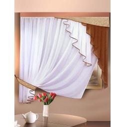 фото Комплект штор для кухни Злата Корунка 55549