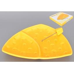 Купить Тарелка для сыра Elan Gallery «Сыр» 110723
