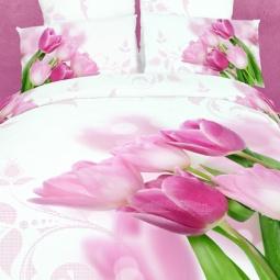 фото Комплект постельного белья Buenas Noches Ocharovanie. Satin Fotoprint. 2-спальный