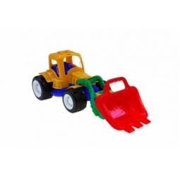 фото Трактор игровой Karolina Toys «Трудяга с ковшом»
