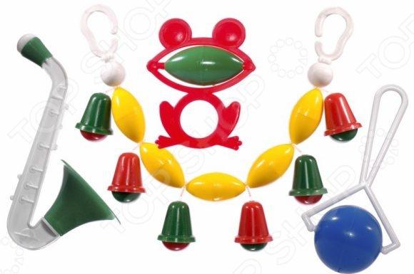 Набор игрушек-погремушек Аэлита «Озорник»Погремушки. Подвески<br>Набор игрушек-погремушек Аэлита Озорник замечательный подарок для маленьких деток. Даже в раннем возрасте ребенку нужны игрушки, поскольку способствуют развитию важных навыков моторика, внимание, мышление и цветовое восприятие . Погремушка идеальный выбор для малыша, ведь она разработана с учетом возрастных особенностей и абсолютно безопасна.<br>