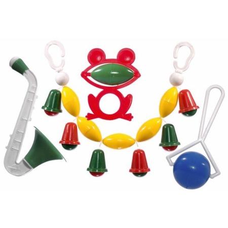 Купить Набор игрушек-погремушек Аэлита «Озорник»