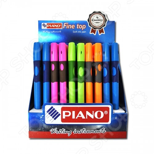 Ручка шариковая для левшей Miraculous Piano. В ассортименте