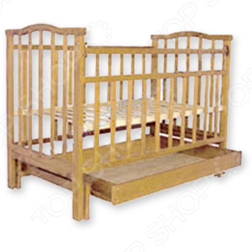 Кроватка детская Агат Золушка-4 обычная кроватка агат 52101 золушка 1 орех