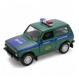 Купить Модель машины 1:34-39 Welly «Lada 4x4. Военная автоинспекция»
