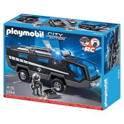 фото Конструктор со свето-звуковыми эффектами Playmobil «Полиция: Машина специального назначения со светом и звуком»