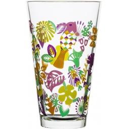 фото Набор стаканов высоких Sagaform Fantasy. Цвет: прозрачный, розовый