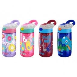 фото Бутылка для воды детская Contigo Gizmo Flip. Цвет: розовый