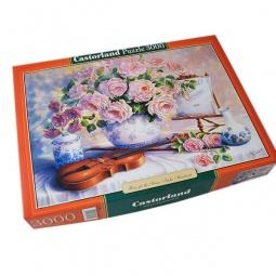 Купить Пазл 3000 элементов Castorland «Вечерние розы»