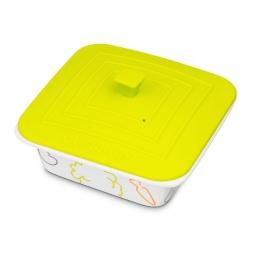 фото Керамическая форма для приготовления «Яркое настроение». Цвет: зеленый