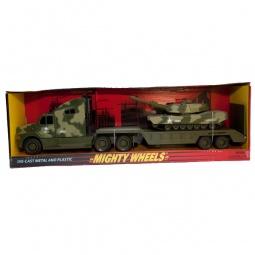 фото Набор машинок игрушечных Soma «Перевозчик и танк» 79288