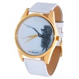 Купить Часы наручные Mitya Veselkov «Ежик с веточкой» Shine