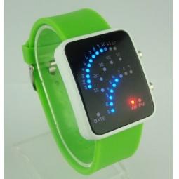 Купить Часы бинарные 31 ВЕК «Неоновые точки» L002. В ассортименте