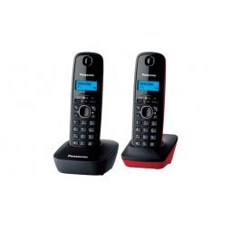 фото Радиотелефон Panasonic KX-TG1612. Цвет: красный, серый