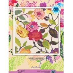 фото Набор для вышивания RTO M493 «Калейдоскоп цветов»