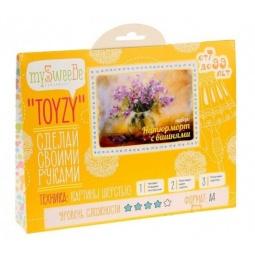 Купить Набор для создания картины из шерсти mySweeBe «Натюрморт с вишнями»