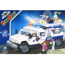 фото Конструктор Banbao Полицейский грузовик, 290 деталей