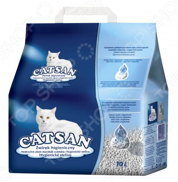 Наполнитель для кошачьего туалета Catsan гигиенический позволит содержать дом в чистоте, устранит неприятные запахи и будет способствовать комфортной жизнедеятельности вашего питомца. Наполнитель разработан в соответствии с самыми высокими требованиями гигиены кошек. Эффективно впитывая влагу, наполнитель не пылит, предотвращает образование микробов, не прилипает к шерсти и лапам животного, нейтрализует неприятные запахи. Использование наполнителя позволит вашему питомцу всегда оставаться чистым и здоровым.