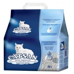 фото Наполнитель для кошачьего туалета Catsan гигиенический. Вместимость (в литрах): 10 л