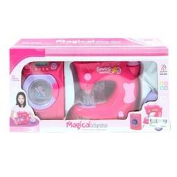 фото Игровой набор для девочки Shantou Gepai «Стиральная и швейная машины» 623