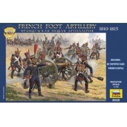 фото Миниатюра Звезда Французская пешая артиллерия 1812 года