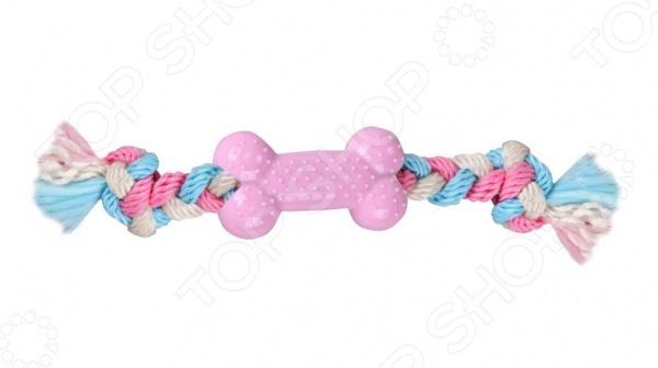 Игрушка для собак DEZZIE «Кость с веревкой»