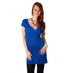 фото Туника Mondigo 9444. Цвет: синий. Размер одежды: 42