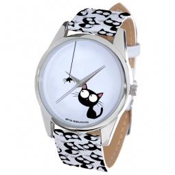 Купить Часы наручные Mitya Veselkov «Кошка и паучок» ART