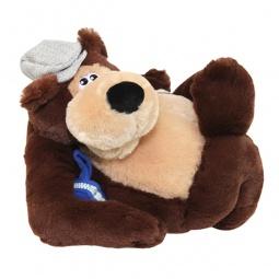 Купить Мягкая игрушка интерактивная Музыкальные подарки «Медвежонок-водила»