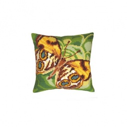 Купить Набор для вышивания подушки Collection D'art 5078