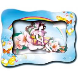 Купить Картинка объемная Vizzle «Фея Радуга»