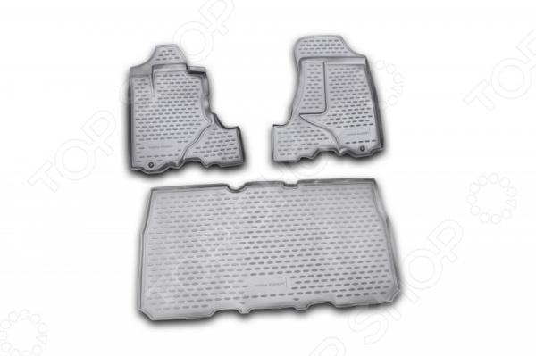 Комплект ковриков в салон автомобиля Novline-Autofamily Honda Element 2003Коврики в салон<br>Комплект ковриков в салон автомобиля Novline Autofamily Honda Element 2003 поможет обеспечить чистоту и комфортные условия эксплуатации вашего автомобиля. Используйте эти коврики, чтобы защитить оригинальное покрытие пола от грязи, пыли, пятен и воздействия влаги. Изделия созданы из экологически чистого полимерного материала, прошедшего строгий гигиенический контроль. Оцените основные преимущества полиуретановых ковриков Novline:  Нейтральность к агрессивному воздействую различных химических сред.  Высокая устойчивость к значительным перепадам температур в диапазоне от -50 до 50 C .  Устойчивость к воздействию ультрафиолетовых лучей.  Значительно легче резиновых аналогов. Легко очищаются от грязи, обладают повышенной износостойкостью.  Свойства материала и текстура поверхности коврика обеспечивают противоскользящий эффект.  Форма ковриков разработана с учетом особенностей конкретной марки и модели автомобиля применяется технология 3D-сканирования для максимальной точности , что избавляет владельца от необходимости их подгонки под салон своей машины. Коврики надежно фиксируются на своих местах и не смещаются.  Передняя часть водительского ковра имеет специальную форму, исключающую зацепление педали за изделие.<br>