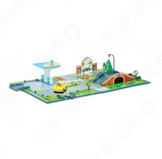 Набор игровой с машинкой Poli «Почта с мостом»