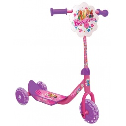 Купить Самокат трехколесный 1 Toy Т53990 «Красотка»