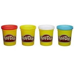 фото Набор пластилина Hasbro Play-Doh «Классические цвета». Цвет: голубой, желтый, белый, красный