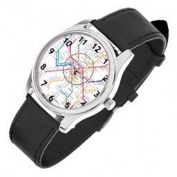 Купить Часы наручные Mitya Veselkov «Карта метро»