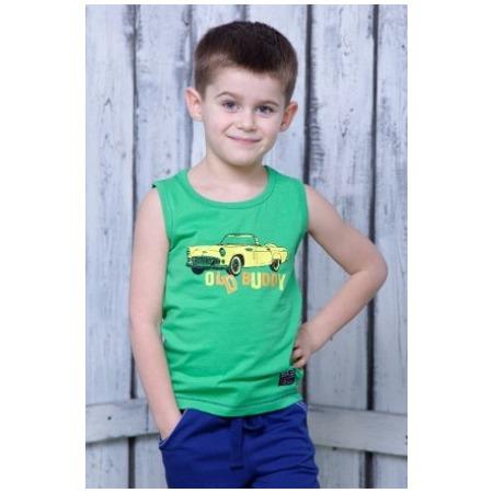Купить Майка для мальчика Detiland SS15-UET-BTP-904. Цвет: зеленый