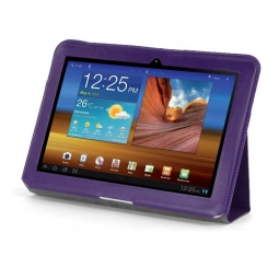 фото Чехол LaZarr Folio Case для Samsung Galaxy Note N8000. Цвет: фиолетовый