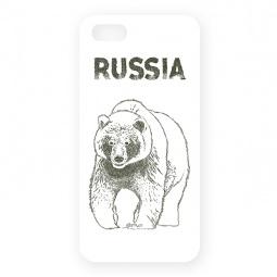 фото Чехол для iPhone 5 Mitya Veselkov «Медведь»