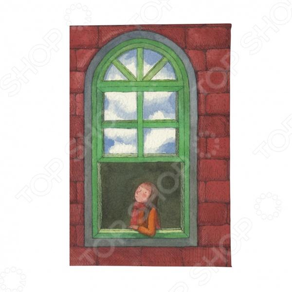 Визитница Mitya Veselkov «Девушка в зеленом окне» аксессуар