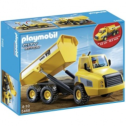 фото Конструктор игровой Playmobil «Стройка: Промышленный самосвал»