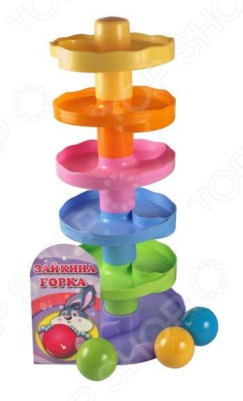 Игрушка-пирамидка Биплант «Зайкина горка №2» Игрушка-пирамидка Биплант «Зайкина горка №2» /
