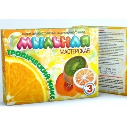 Купить Набор для изготовления мыла Инновации для детей «Мыльная мастерская. Тропический микс» 744