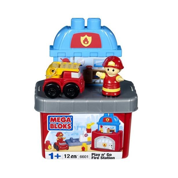 фото Мини-конструктор Mega Bloks Пожарная станция