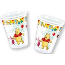 Купить Стаканы пластиковые Procos «Винни-Пух и Пятачок»