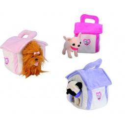 Купить Домик для плюшевых собак Simba «Чихуахуа, мопс и йоркширский терьер с шарфиками». В ассортименте