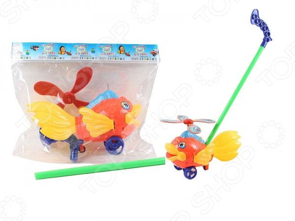 Игрушка-каталка S+S TOYS «Рыбка» СС75577 s s toys каталка мотоцикл
