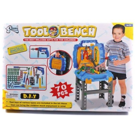 Купить Игровой набор для мальчика Shantou Gepai «Портативная мастерская с набором инструментов»