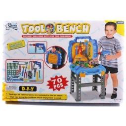 фото Игровой набор для мальчика Shantou Gepai «Портативная мастерская с набором инструментов»
