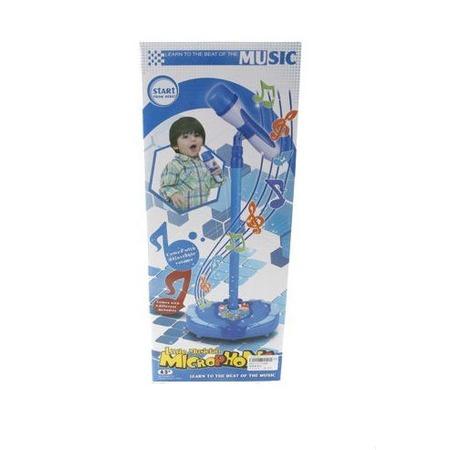 Купить Игрушка музыкальная Shantou Gepai «Микрофон на стойке» 72386